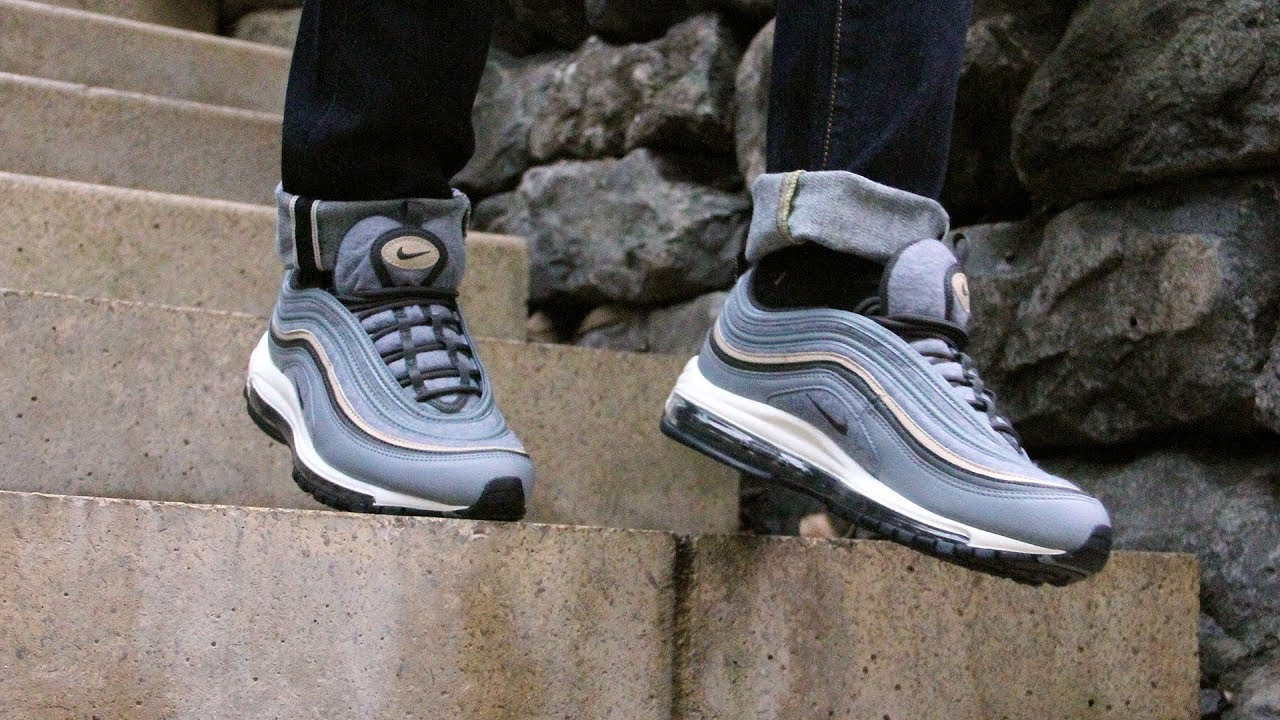 "2fbbc4a5dc8 Nike Air Max 97 Premium ""Wool pack"" – On Foot - YouTube"