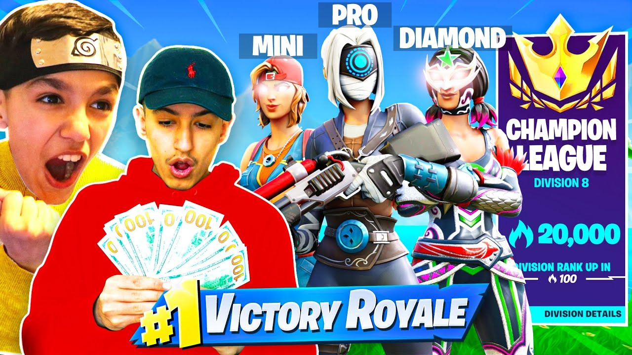 Brothers Hire Pro Fortnite Player To Carry Us To Our First Champion Arena Win!