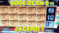 Book of Ra 6 JACKPOT - Freispiele auf 6€ - Novoline Online Casino HD