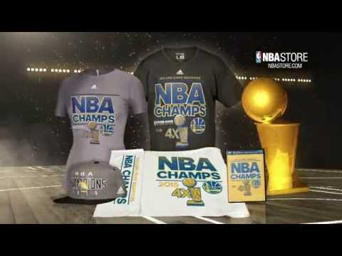 Score your Warriors Champs Gear at NBAStore.com - 동영상