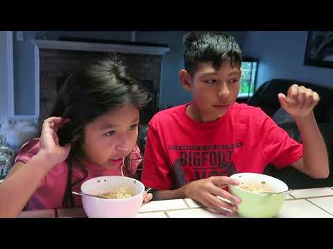 Haciendo una casa para Athena y Rocky/El Reto de la Sopa mas Picosa �