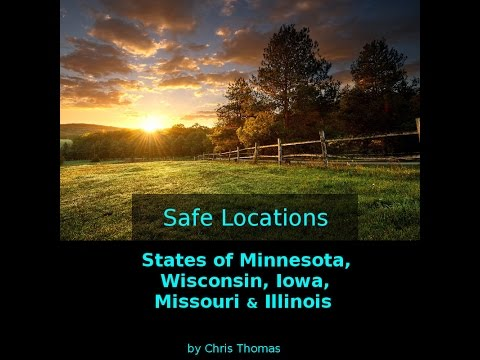 Safe Locations series for Minnesota, Wisconsin, Iowa, Missouri & Illinois.