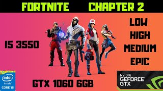 FORTNITE GTX 1060 6GB | ALL SETTINGS | CORE I5