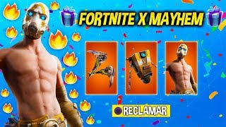FORTNITE X MAYHEM EVENT! FAÇON EXCLUSIVE D'OBTENIR LE LOT PSYCHOTIQUE GRATUIT? BORDERLANDS 3Fortnite