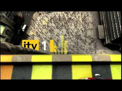 ITV1 HD Ident Pavement Art