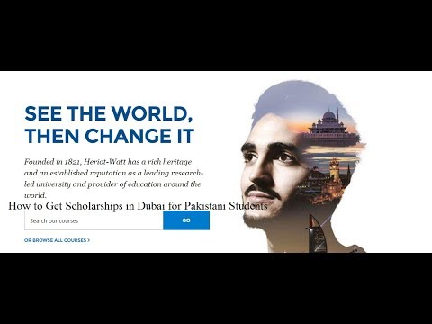 How to Get Scholarships in Dubai for Pakistani Students
