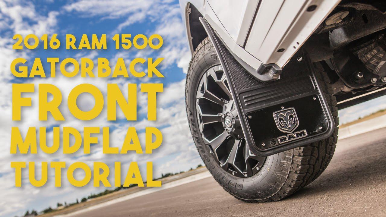 Gatorback Universal Installation 2016 Ram 1500 Front Youtube