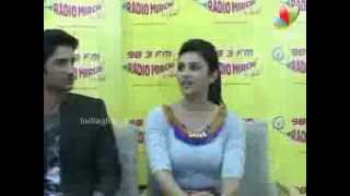 Parineeti, Sushant, Vaani Kapoor At Radio Mirchi | Bollywood Movie | Shuddh Desi Romance, Title Song