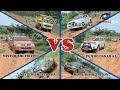 Mitsubishi Pajero, Strada Triton,Toyota Hilux, Dump Truck 4x4 Dlm Satu Lintasan.. Mnakah yg terbaik