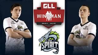 Team Spirit на пути к GLL Wingman Duo FPP