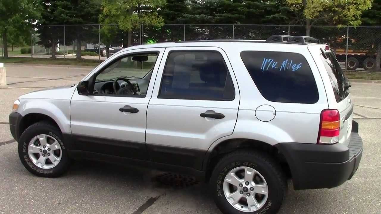 Ford Escape XLT WD YouTube - 2005 escape