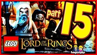 Lego the lord of the rings - Walkthrough Part 15 Paths of the Dead