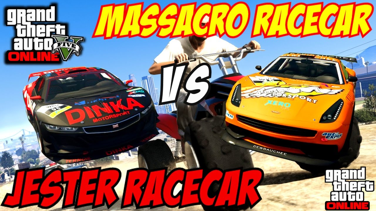 GTA 5 PS4 - Massacro Racecar Vs Jester Racecar | #108 (GTA ...