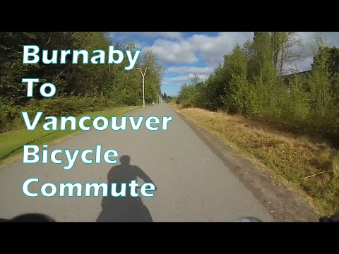 Burnaby to Vancouver Bicycle Commute