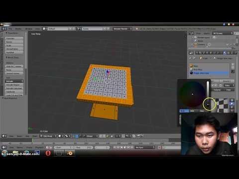 Cara Membuat Animasi Di Blender Part 1