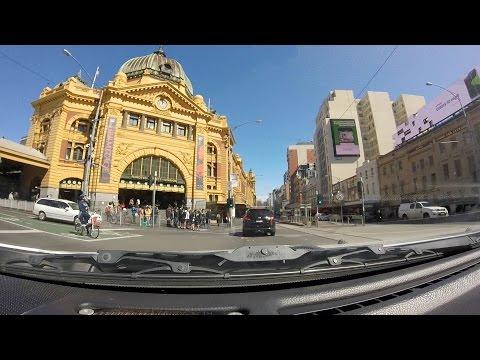 Footscray to Melbourne CBD Drive