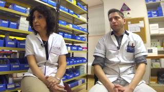 "Info Salud · Prog 30 · Bloq 1 · "" Farmacia Hospitalaria """