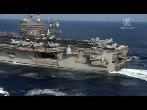 震慑朝鲜 美航母打击群重返西太平洋(卡尔文森号_航空母舰)