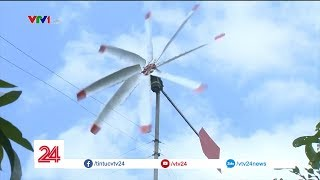 Nông dân miền Tây tự chế điện gió, tiết kiệm 1 triệu mỗi tháng