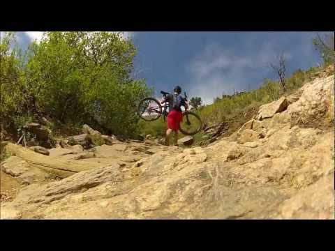APEX downhill mountain biking (GoPro) (Golden, CO)