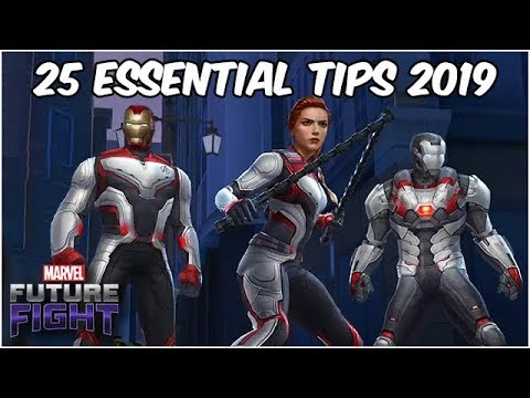 25 ESSENTIAL TIPS FOR BEGINNERS 2019 - Marvel Future Fight