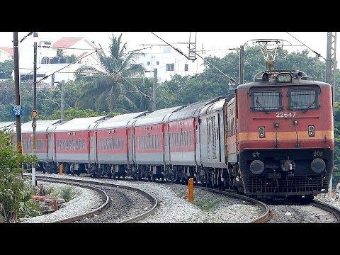 RED TRAIN ! BANGALORE PATNA PREMIUM EXPRESS
