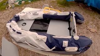 X-Cape 230 Şişme bot kurulumu, inflatable boat fishing setup