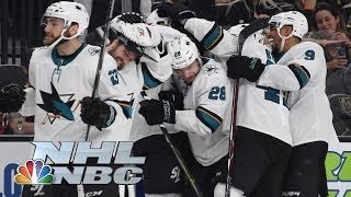 NHL Stanley Cup Playoffs 2019: Sharks vs. Golden Knights | Game 6 Highlights | NBC Sports