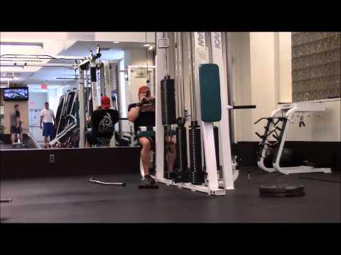 Doug Miller Back Training Full Workout 11 Days Out From Yorton Cup