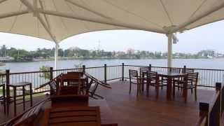 Waters Edge Park and Diyawanna Lake in Colombo Sri Lanka ready for CHOGM 2013