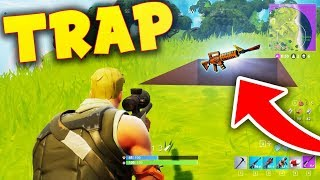 TROLLING WITH TRAPS! Fortnite: Battle Royale (Funny Trolls)