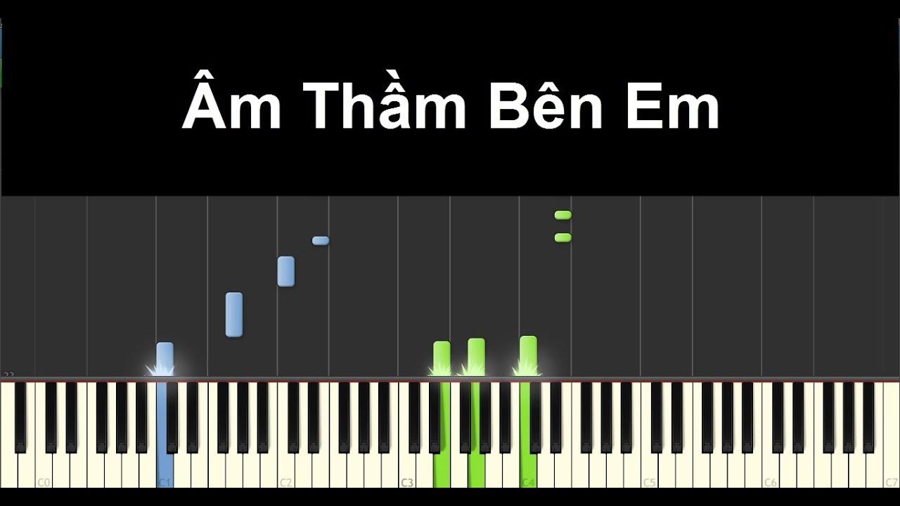 Âm Thầm Bên Em - Sơn Tùng M-TP | Piano Tutorial #55 | Bội Ngọc Piano
