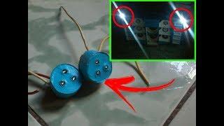 Como fazer mini strobo de led pro seu mini paredão(SIMPLES)-Eqp Terremoto