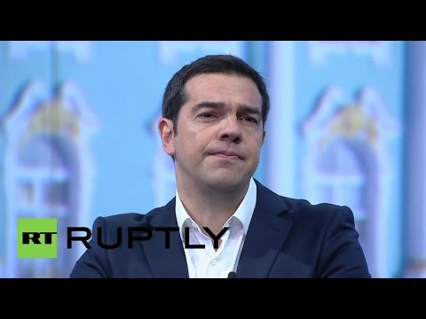 """Russia: """"We are ready for new seas to find safe ports"""" - Tsipras at SPIEF"""