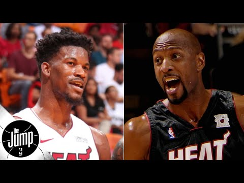 Jimmy Butler talks to Alonzo Mourning every day about Miami Heat culture | The Jump