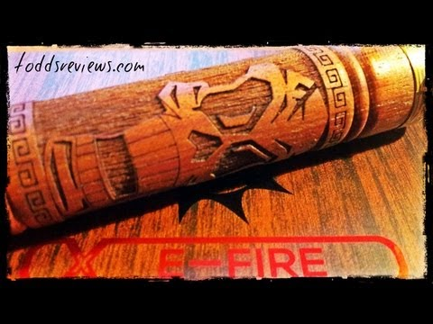 E-Fire VV Wooden Kit