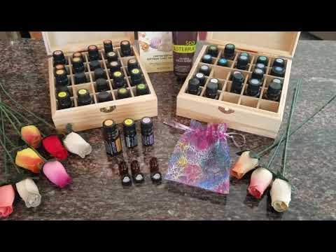 DIY Doterra Essential Oil and Wooden Rose Diffuser Gift Set