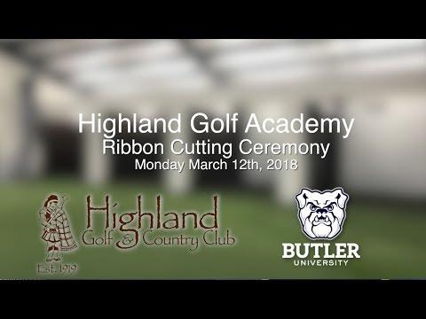 Highland Country Club Golf Academy Ribbon Cutting Ceremony