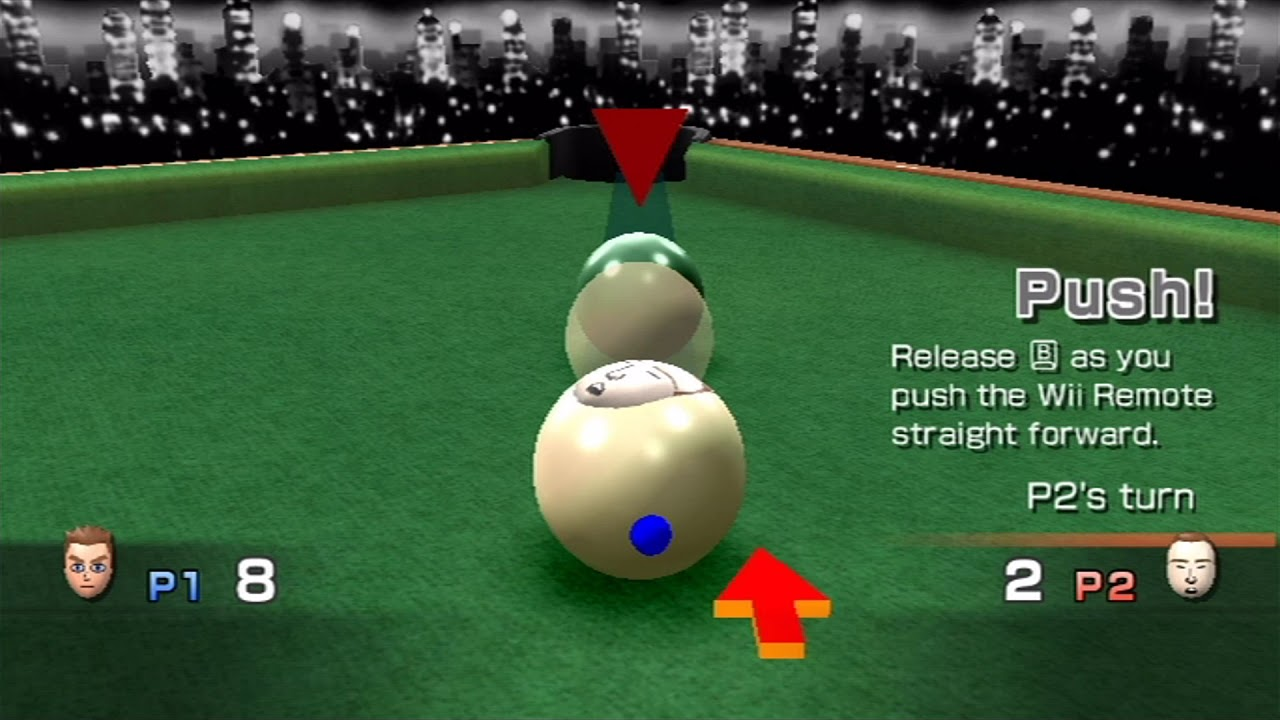 Wii Play - Two-Player Billiards - YouTube