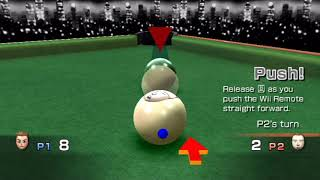 Wii Play - Two-Player Billiards