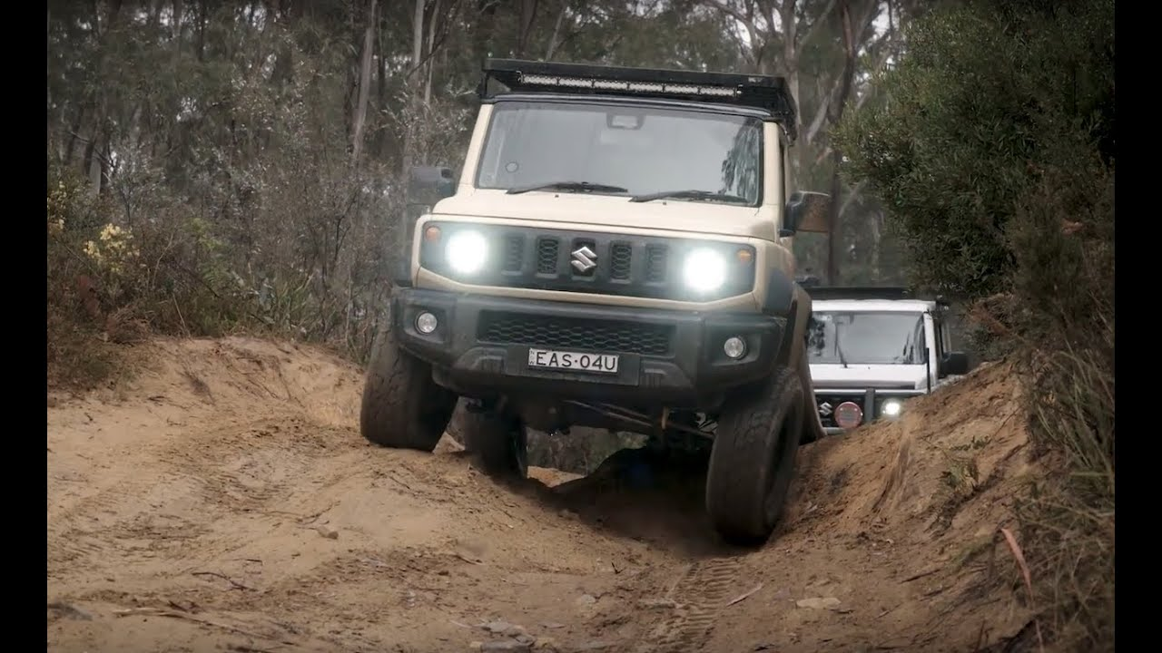 Suzuki Jimny 2019 - Stock vs Modified - Off-Road