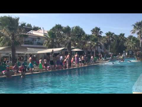The Original Salmon 08/07/2015 Marina Parc Splash World Menorca