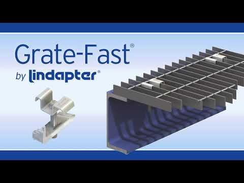 CE Approved Type GF (Grate-Fast®) by Lindapter