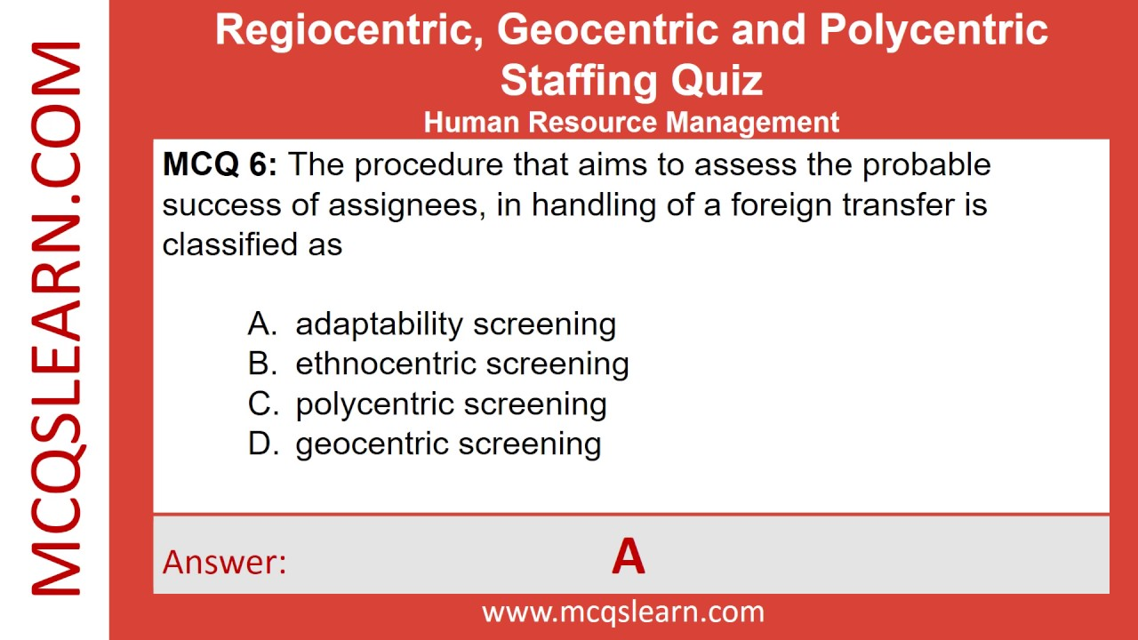 ethnocentric approach to human resources management essay Mncs can approach the management of international human resources in a number of ways four of these approaches are given by ken kamoche: approach 1 ethnocentric: in the ethnocentric approach, the mnc simply exports hr practices and policies used in the home country to subsidiaries in foreign locations.