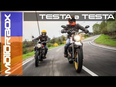 Ducati Scrambler Desert Sled vs Triumph Street Scrambler