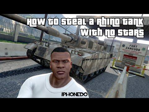 The Best Way To Steal Rhino Tank No Stars No