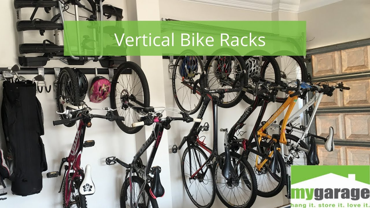 Introducing our Vertical Bike Racks - the ideal choice for storing your bikes