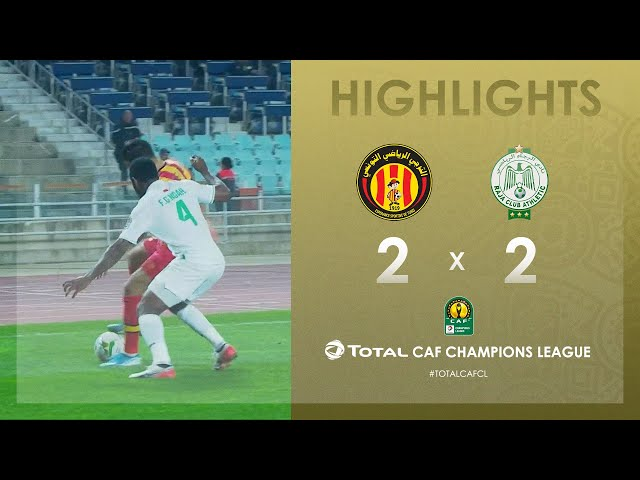 Espérance de Tunis 2-2 Raja Club Athletic | HIGHLIGHTS | Match Day 5 | TotalCAFCL