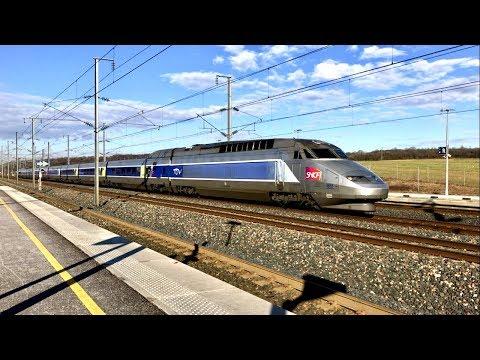 LGV Est  TGV Speed Rail