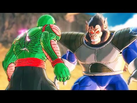 GIANT NAMEKIAN vs GIANT APE! - Dragon Ball Xenoverse 2 Part 140 | Pungence